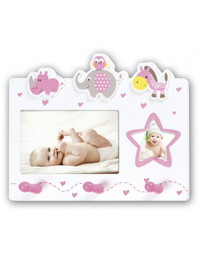 baby picture frame CHANTAL for 2 photos