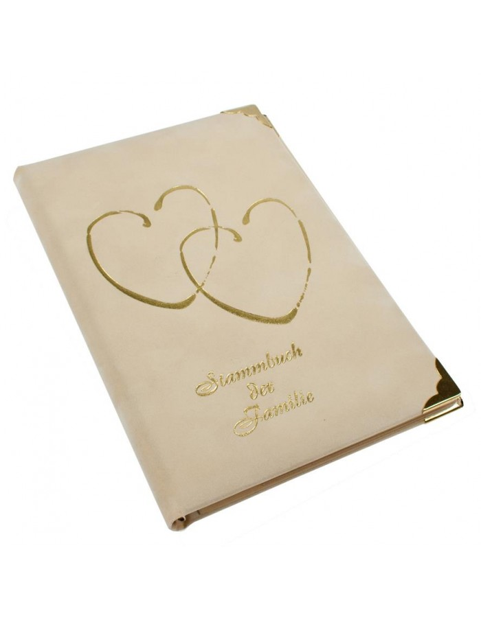 CORAZON Stammbuch in beige