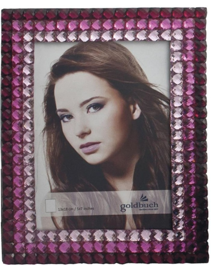 CRISTAL metall photo frame red 13x18 cm