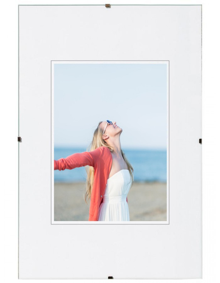 Clip frame 60x90 cm normal glass | fotoalben-discount.de