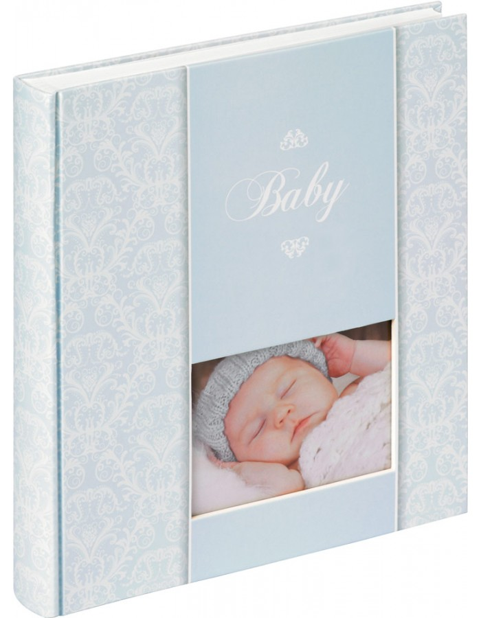 walther daydreamer baby fotoalbum blau fotoalben. Black Bedroom Furniture Sets. Home Design Ideas