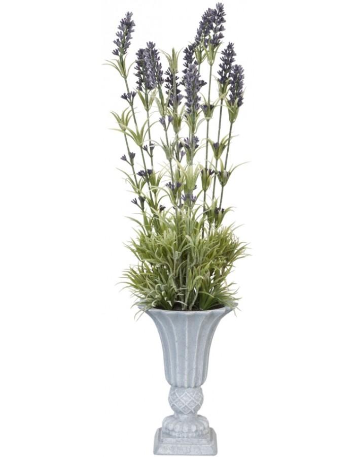 Deko Lavendel Im Topf O 10x55 Cm Clayre Eef Fotoalben Discount De