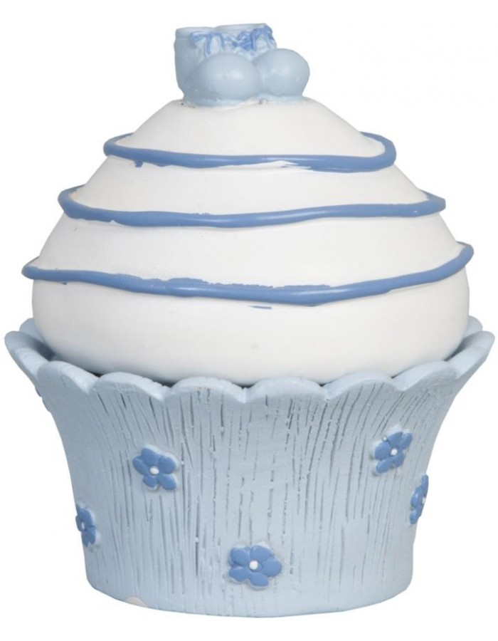 Deko Muffin Blau 7x9 Cm 6pr0326 Clayre Eef Fotoalben