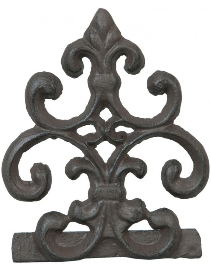 Deco ornament cast iron 12x8x4 cm