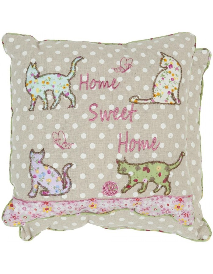 pillow - KG003.002 Clayre Eef - Cats II