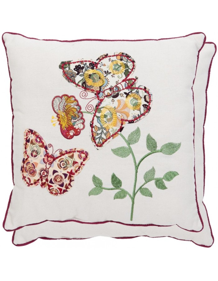 pillow - KG001.010 Clayre Eef - Butterfly