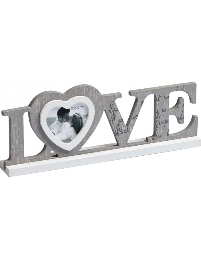 Walther decorative frame LOVE for one image 8x7,7 cm | fotoalben ...
