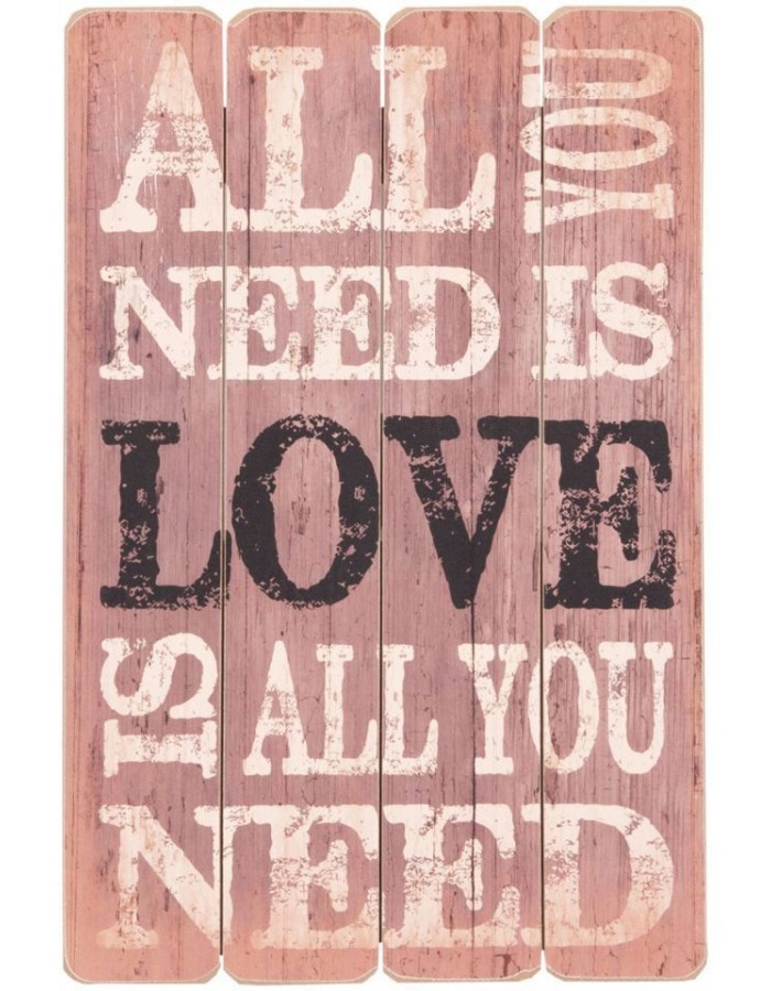 decoration 40x60 cm picture ALL YOU NEED
