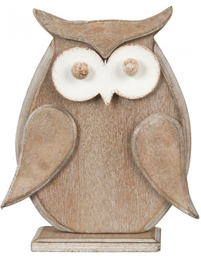 decoration owl 6H0754MCH Clayre Eef