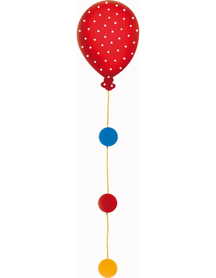 Design Photo rope balloon in the sky - L 90 cm