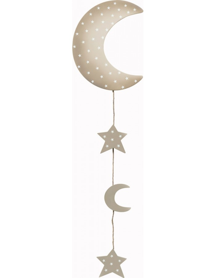 Design Photo Rope moon in the sky - L 90 cm