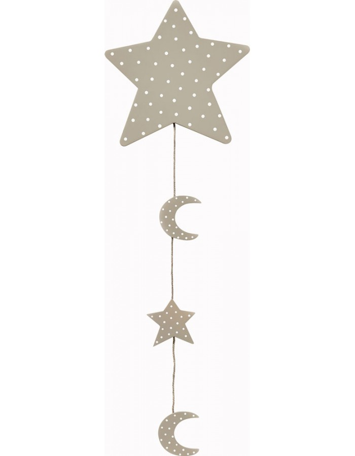 Design Photo Rope star in the sky - L ca 90 cm
