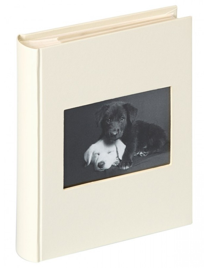 Slip-in photo album CHARM white for up to 200 photos 11,5 x 15,5 cm