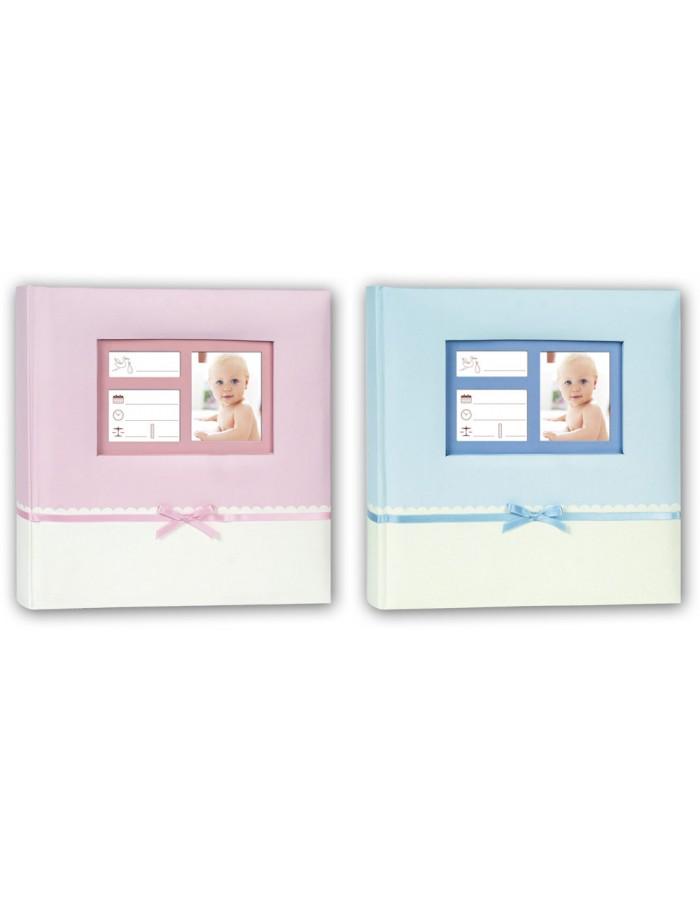 zep einsteckalbum denise rosa und blau fotoalben. Black Bedroom Furniture Sets. Home Design Ideas