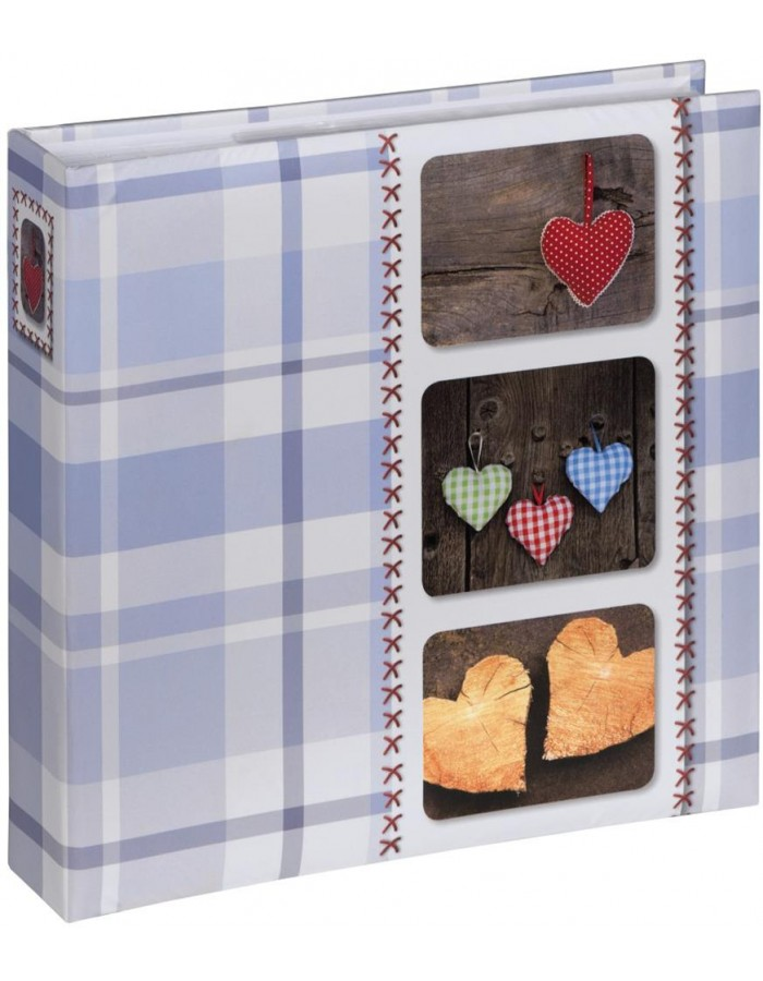 slip-in photo album ISNY 200 photos 10x15 cm blue