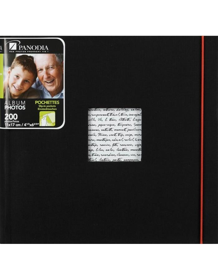 Einsteckalbum Linea 200 Fotos 11x17 cm schwarz Panodia | fotoalben ...