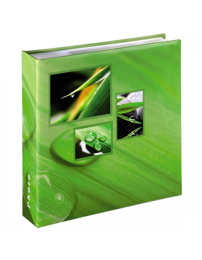 Singo Memo Album, for 200 photos with a size of 10x15 cm, green