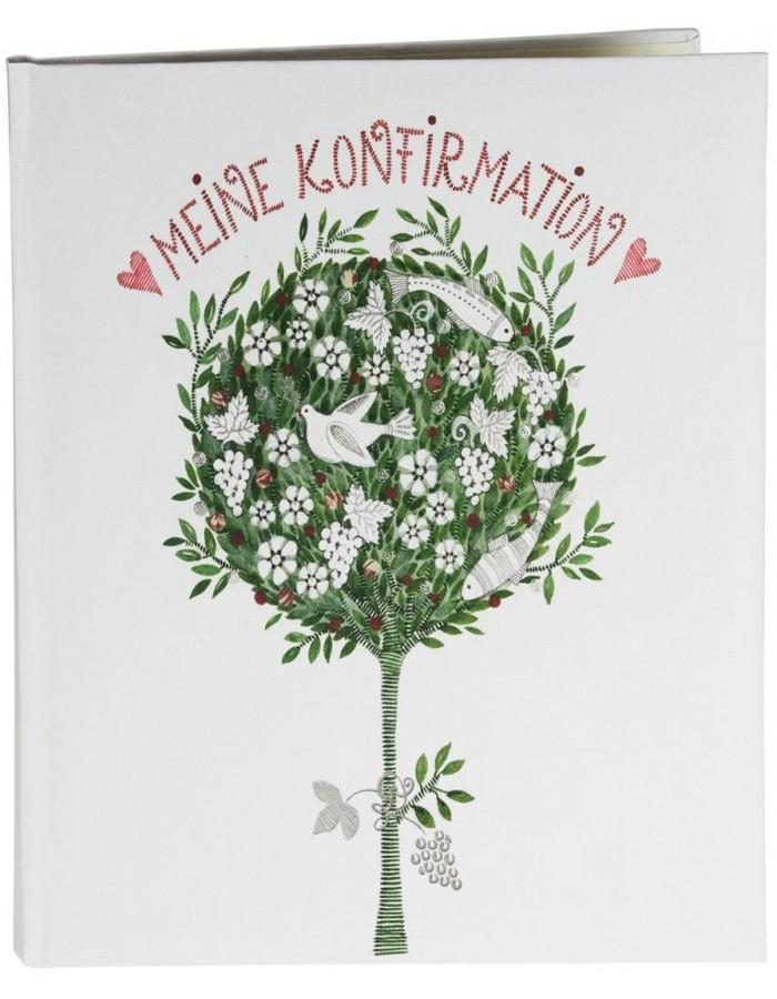 erinnerungsalbum konfirmation lebensbaum goldbuch. Black Bedroom Furniture Sets. Home Design Ideas
