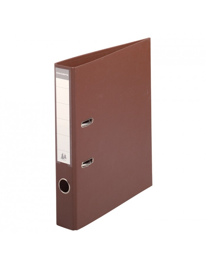 Exacompta folder A4 Premium 50mm brown