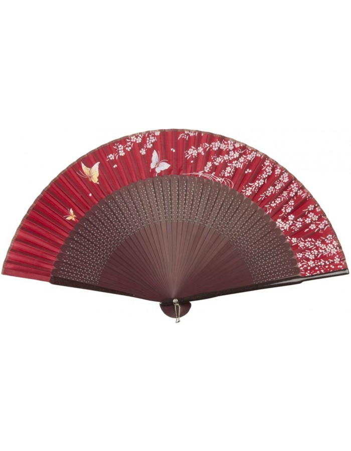 FAW0012 Clayre Eef - paper fan red