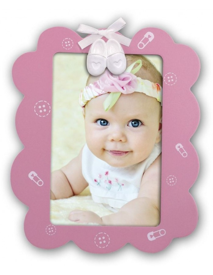 baby photo frame girl FRANCESCA 10x10 cm