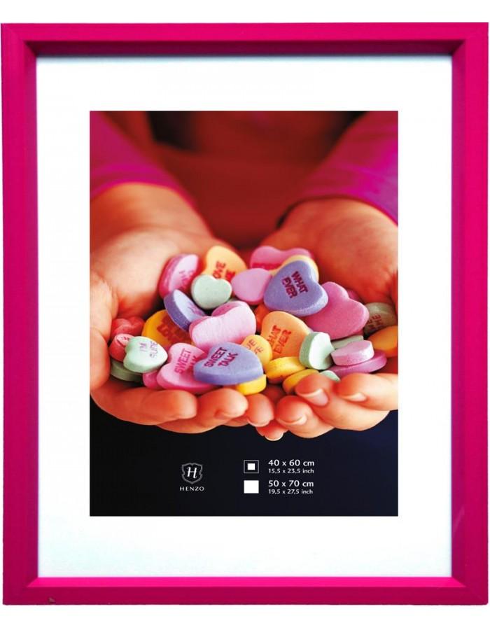 Henzo FRESH-COLOUR Kunststoff-Rahmen 50x70 cm pink   fotoalben ...