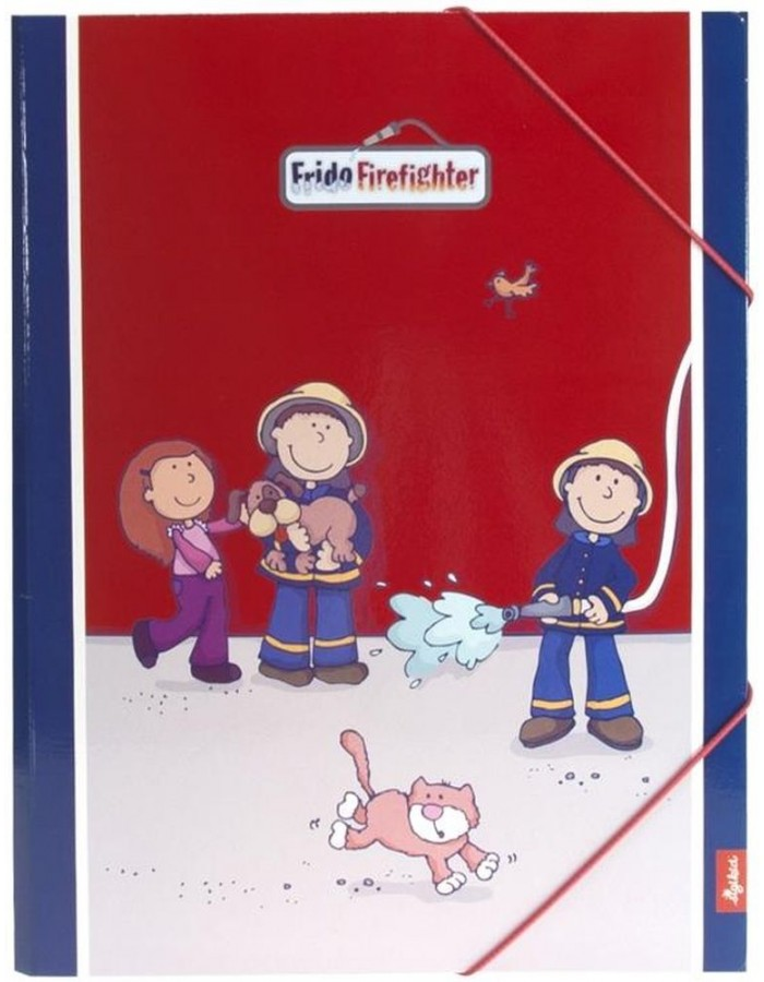 FRIDO FIREFIGHTER Sammelmappe Kinder A4