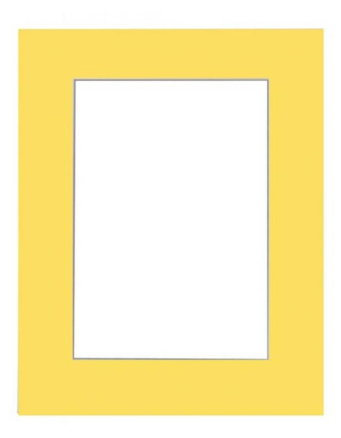 FDM finished Passepartout 40 x 50 cm to 30 x 40 cm yellow ...