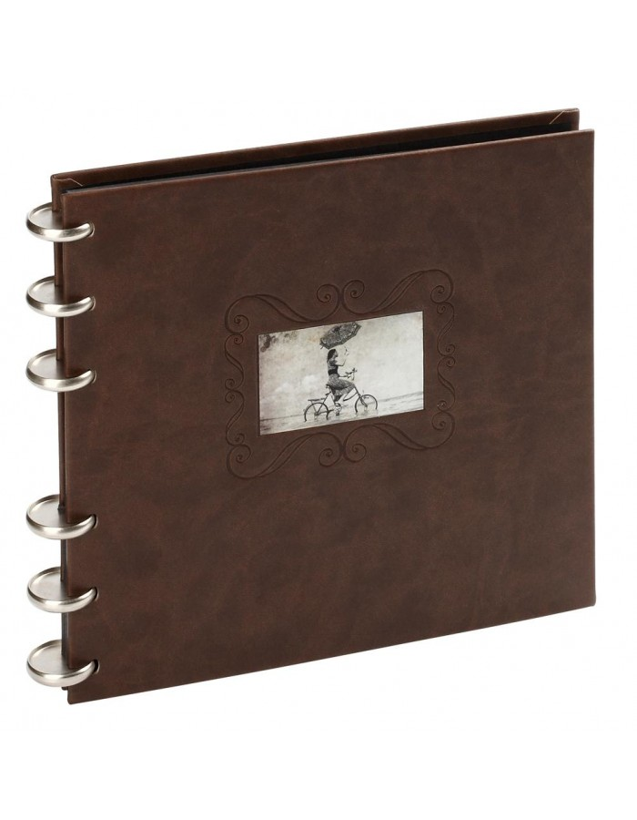 Leather photo album Zao 50 sides 9x9