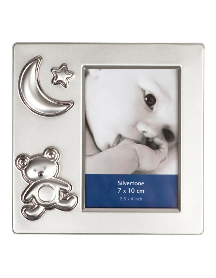 Henzo photo frame in silver BABY FRAME 7x10 cm | fotoalben-discount.de