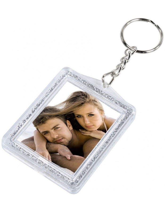 GLIMMER photo keychain