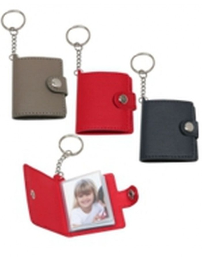 Photo key ring assorted 20 photos 3,5x4,5 cm