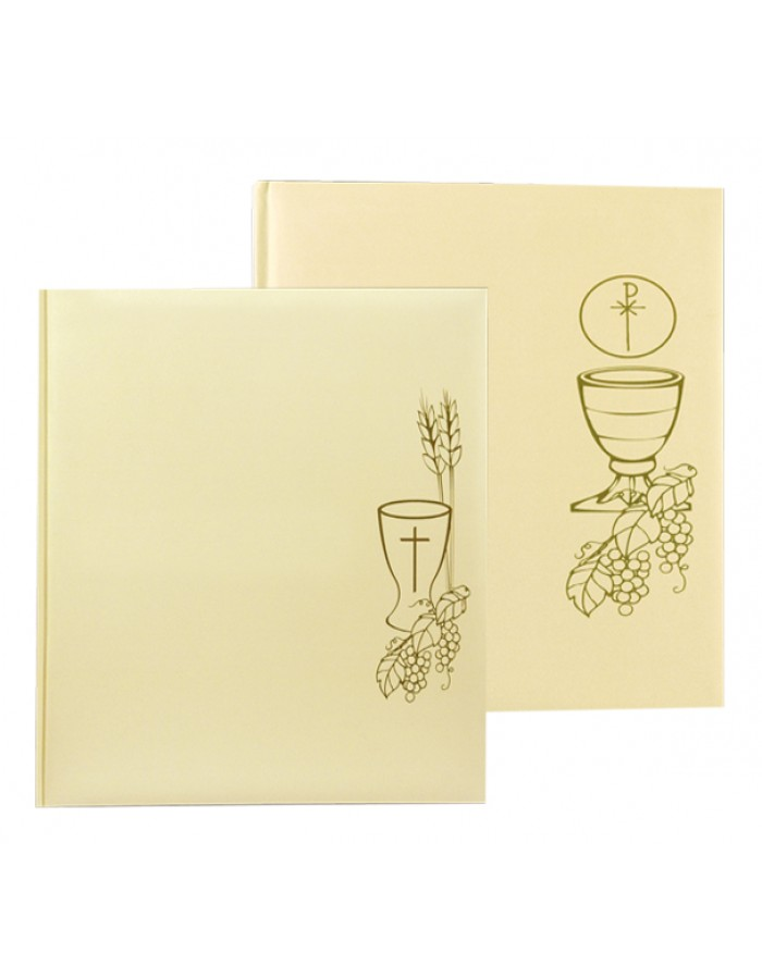 Photo album Calice communion 24x31 cm