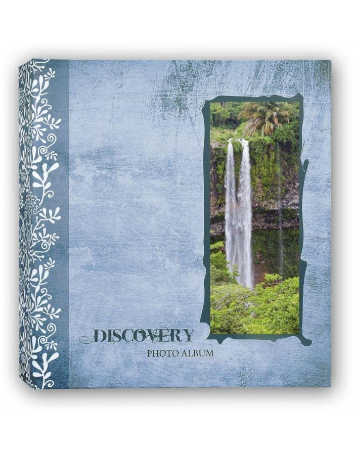 DISCOVERY slip-in album 200 photos 13x19 cm