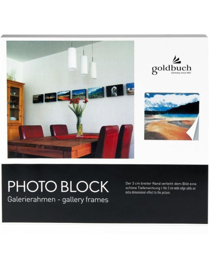 photo block grey 20x20 cm