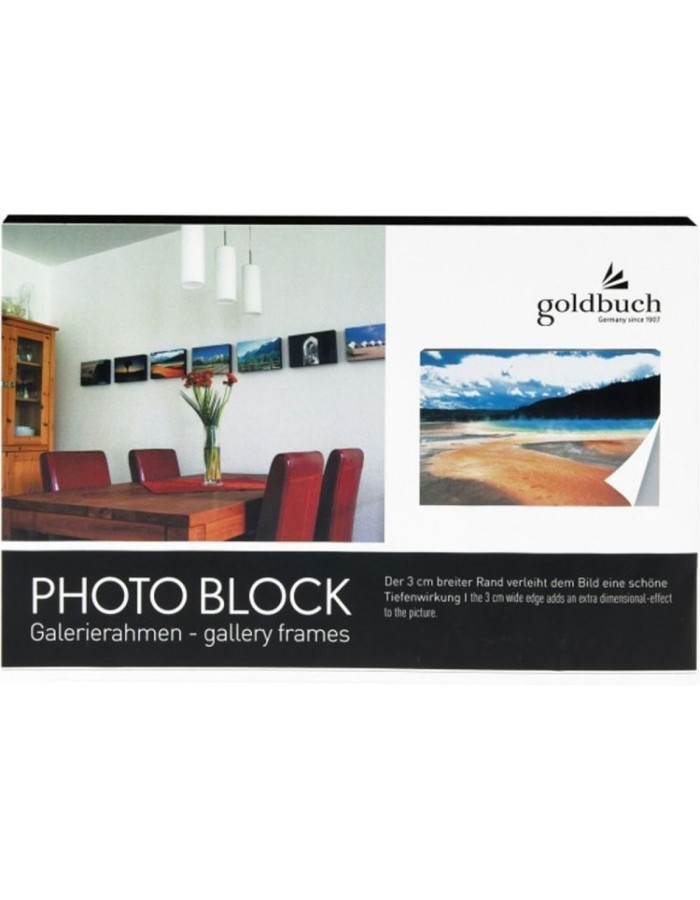 photo block black 30x45 cm