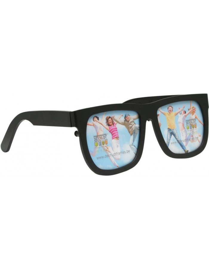Photo Glasses for 2 pictures black and pink