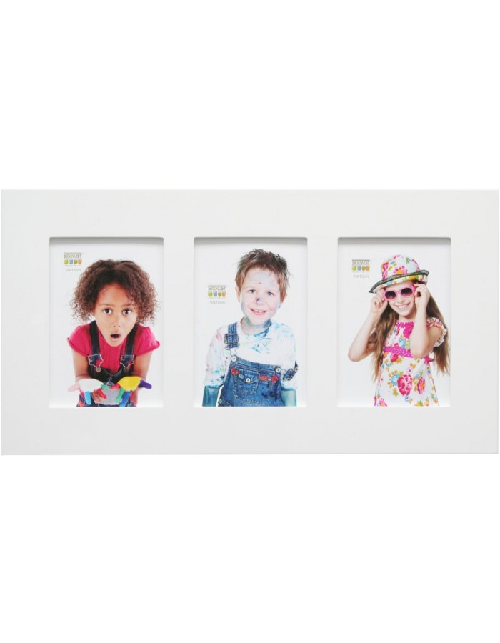 S66WK glossy frame wooden photo gallery and single frame