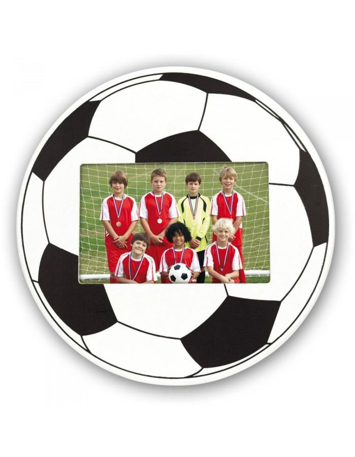 Fußball Bilderrahmen aus Holz