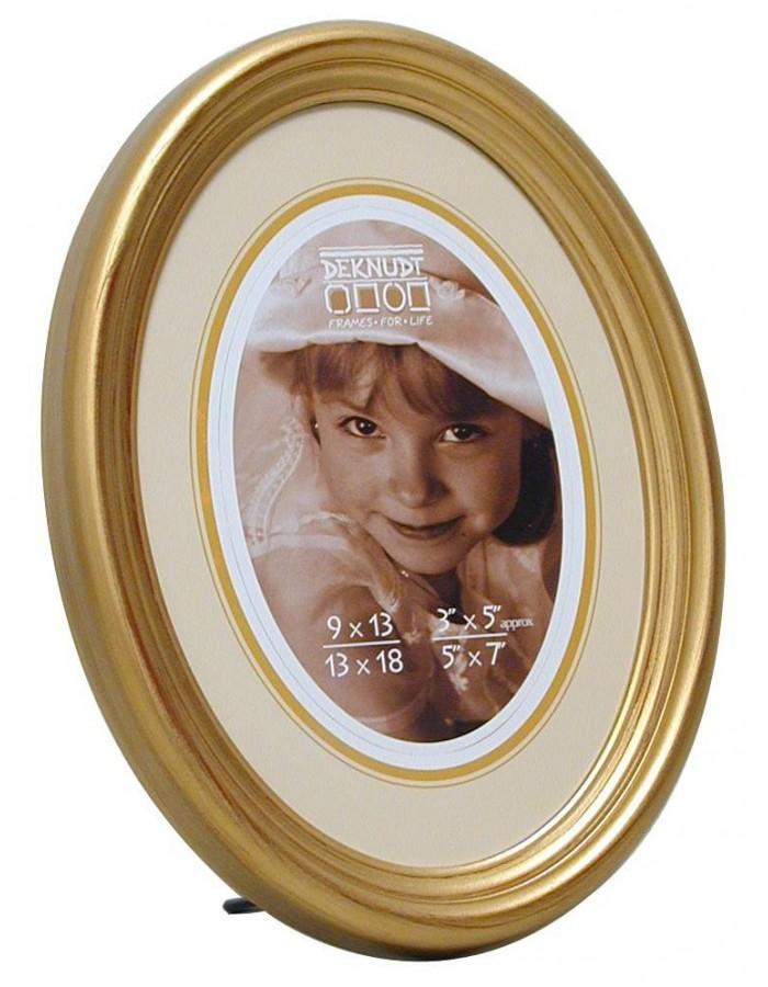 Deknudt Fotorahmen Solan im ovalen Format - 9x12 cm | fotoalben ...
