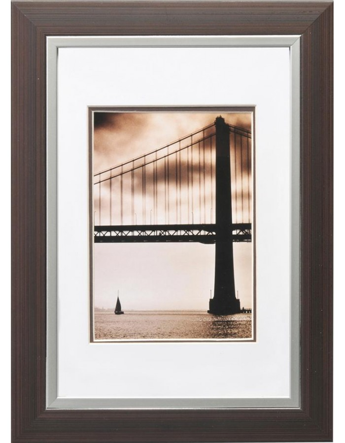 Henzo Frisco Bay plastic frame 20x30 cm dark brown | fotoalben ...