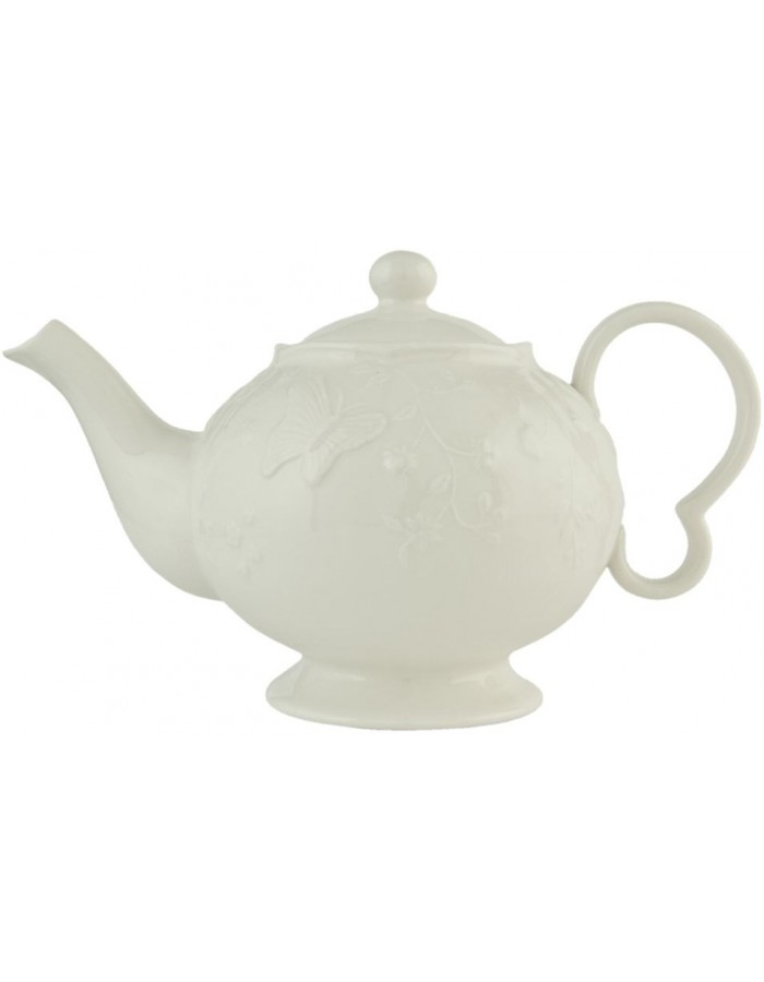GBTE teapot white  by Clayre Eef