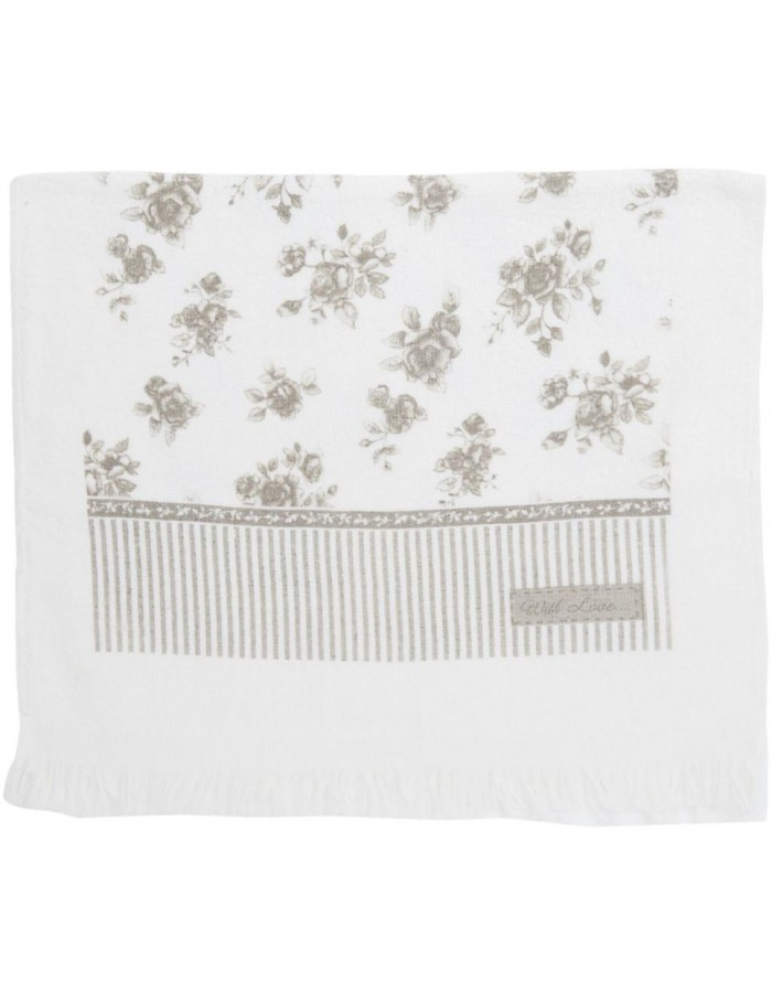 guest towel natural - CTRY Clayre Eef