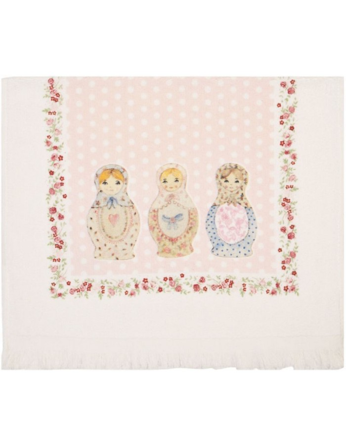 guest towel rose - CT001 Clayre Eef