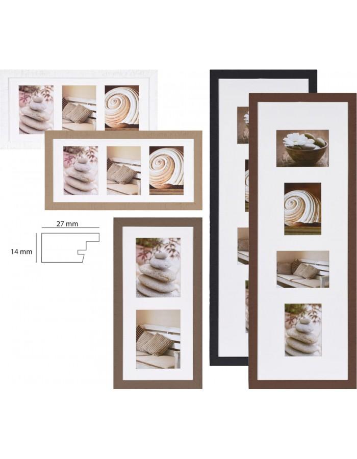 Driftwood wooden gallery frame Henzo | fotoalben-discount.de