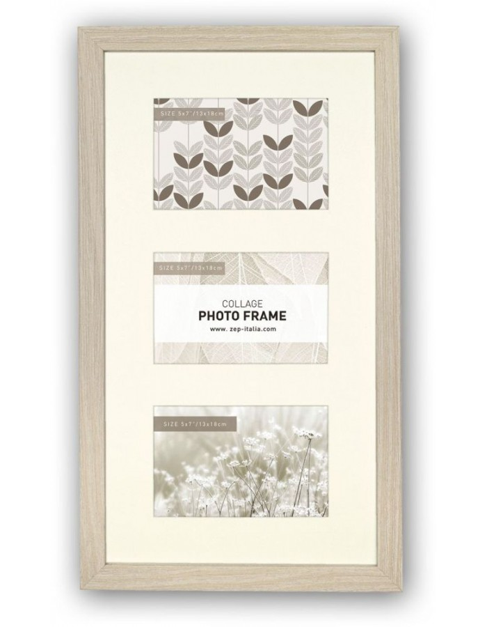 Gallery frame Elba 3 photos 10x15 cm or 13x18 cm