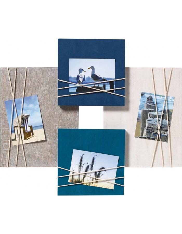walther galerierahmen la casa blau f r 4 fotos fotoalben. Black Bedroom Furniture Sets. Home Design Ideas