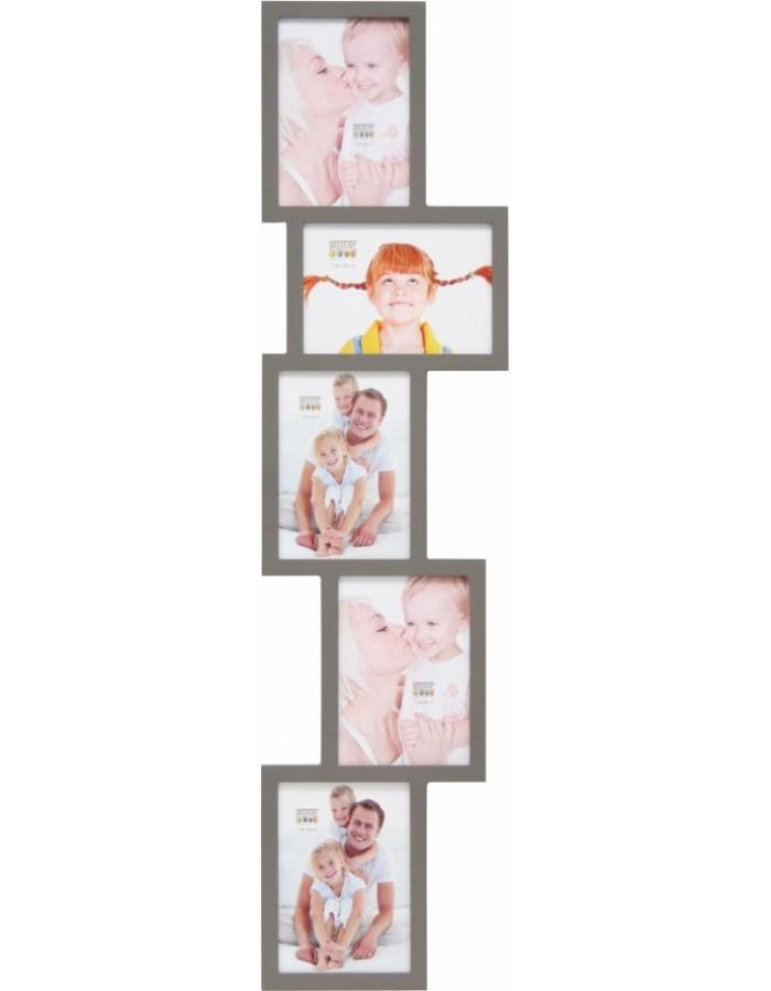 Deknudt Galerierahmen S65SX taupe 5 Bilder 13x18 cm   fotoalben ...