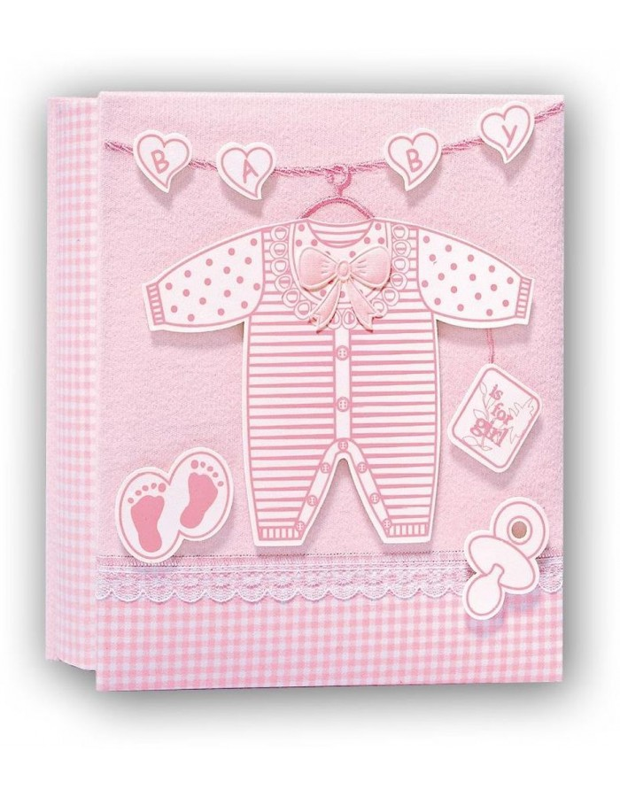 Gift - slip-in album with frame pink