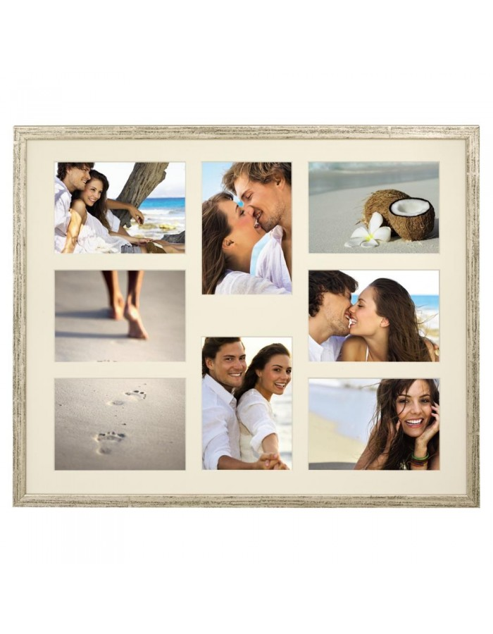 Gallery frame Giulia 3 photos to 8 photos 10x15 cm and 13x18 cm